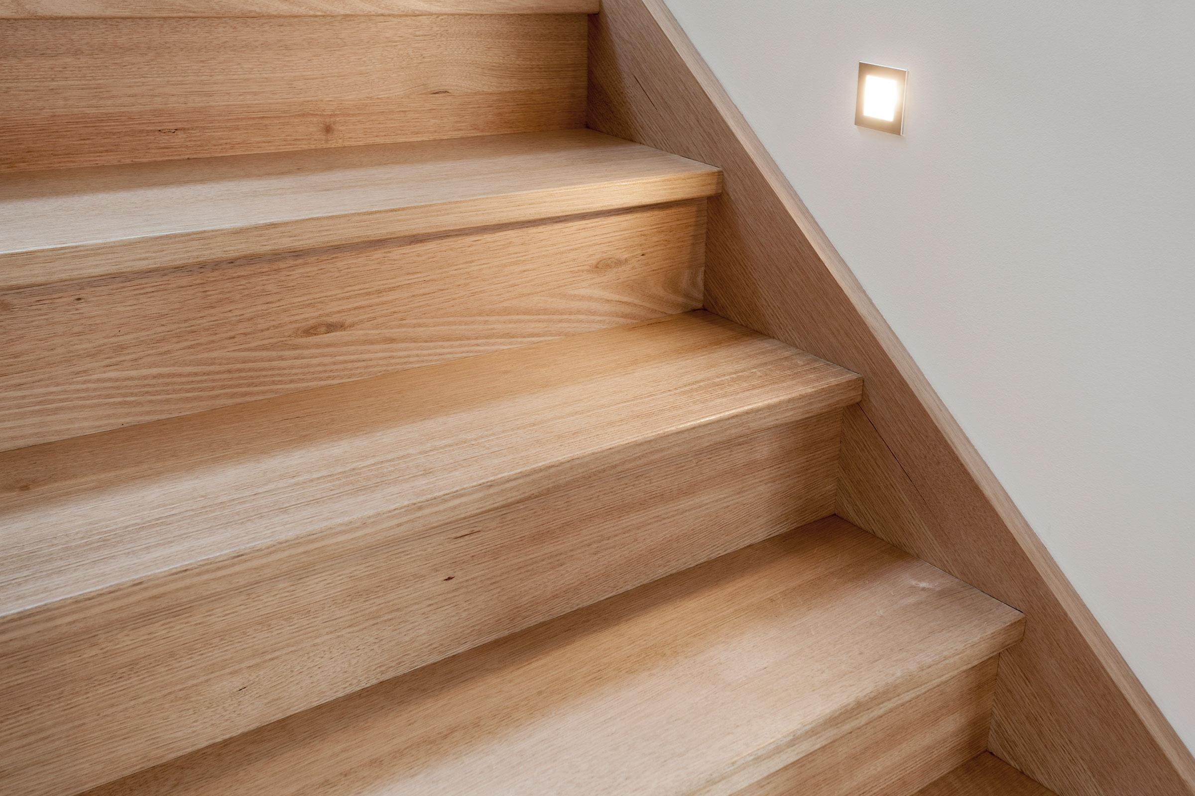Vic Ash with contrasting balustrade | Just Stairs